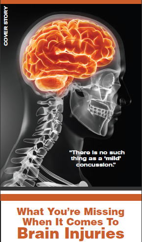 Coach AD Magazine Cover Story The Concussion Blog Best Concussion Quotes