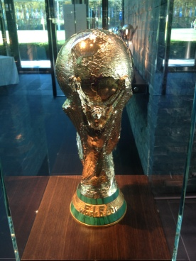 I took this pic at FIFA HQ